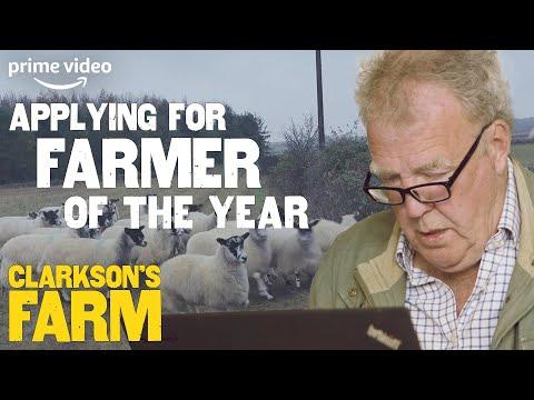 Jeremy Clarkson's 'Honest' Application for Farmer of The Year   Clarkson's Farm   Prime Video