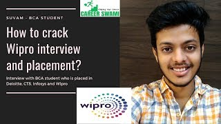 BCA student interview | How to crack Wipro interview and placement | Fresher