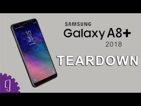 Samsung Galaxy A8 Plus 2018 Teardown | Disassembly