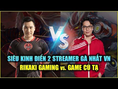 Free Fire | Siêu Kinh Điển: Rikaki Gaming vs Game Củ Tạ - 2 Streamer Bắn Gà Nhất VN | Rikaki Gaming