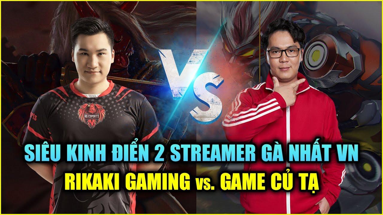 Free Fire   Siêu Kinh Điển: Rikaki Gaming vs Game Củ Tạ - 2 Streamer Bắn Gà Nhất VN   Rikaki Gaming