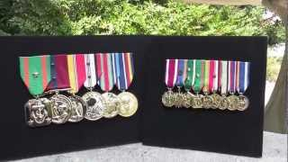 Marine Mounted Medals for the USMC Birthday Ball - Medals of America