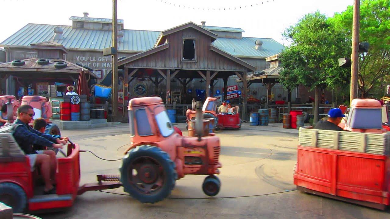Tow Mater\'s Junkyard Jamboree, Cars Land, Disney California ...