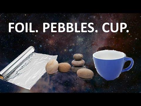 Foil Pebbles Cup