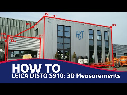 Leica Disto S910: 3D Measureme...