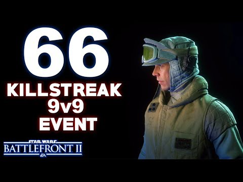 66 KillStreak With Luke SkyWalker 9v9 Event In Star Wars Battlefront 2