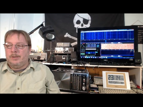 Shortwave Radio live show Saturday April 21st 2018
