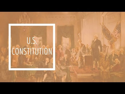 (6) U.S. Constitution - Preamble / Article 1