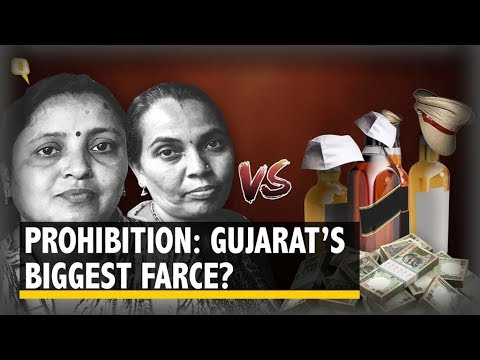 Cops and Netas Defeat Women Vigilantes in 'Liquor-Free' Gujarat | The Quint