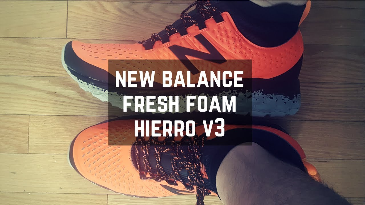 outlet venta caliente real diseño innovador New Balance Fresh Foam Hierro V3 - Tested & Reviewed - YouTube