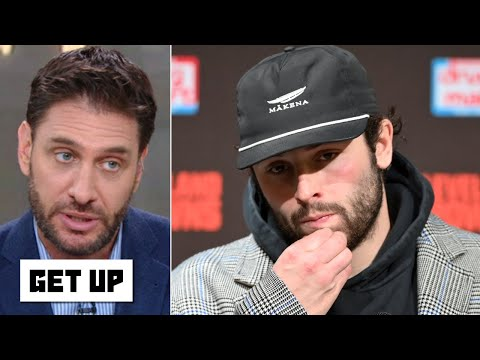 Baker Mayfield's big personality has 'bit him in the butt' this season - Mike Greenberg | Get Up