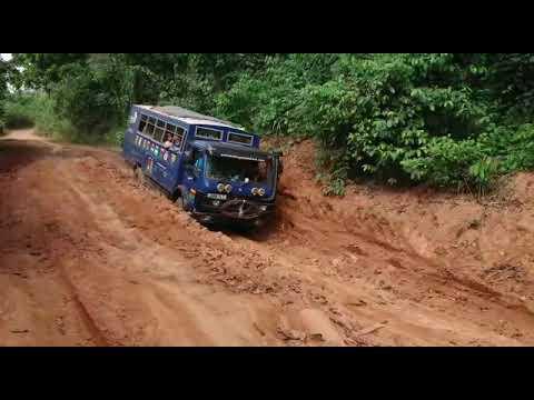 Overlanding West Africa: Sierra Leone To Liberia Highway