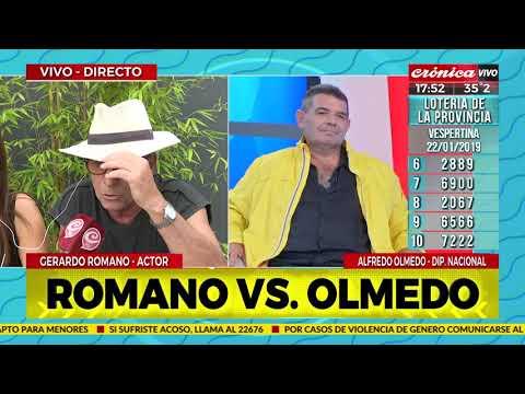 Gerardo Romano vs Olmedo, y los chalecos amarillos argentinos