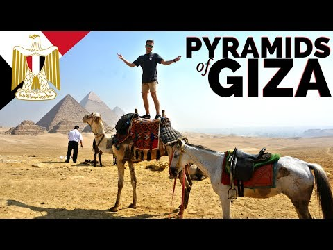 THE PYRAMIDS OF GIZA // Egypt Travel مصر