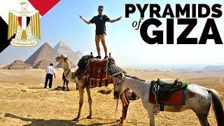 THE PYRAMIDS OF GIZA  Egypt Travel