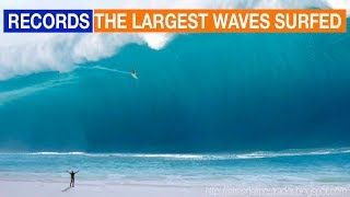 biggest waves ever surfed in history las olas más grandes jamás surfeadas