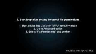 how to fix boot loop for any android device