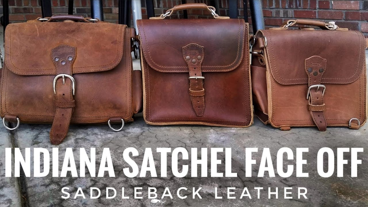 Maybe the Best Leather Satchel    Indiana Satchel Face-OFF ... 3dbf13a491cca