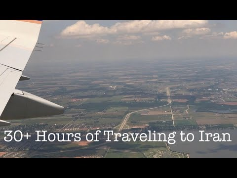 VLOG • TRAVEL WITH ME TO IRAN FOR 30+ HOURS