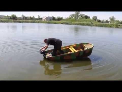 Лодка катамаран-картоп 'МБ2'