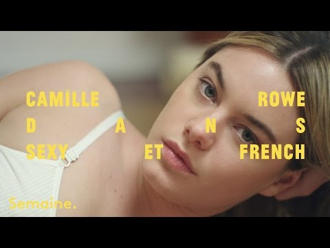 Camille Rowe for Sezane & Semaine