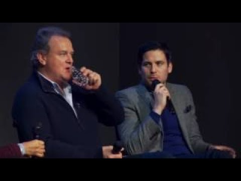 Hugh Bonneville and Rob James Collier: Downton Abbey Interview