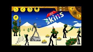 New Update Stick War: Legacy - New Leaf Skins Unlocked Android Gameplay Scary teacher aniamtion