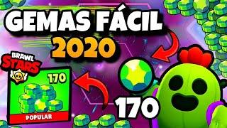 MÉTODO MAIS FÁCIL DE GANHAR GEMAS NO BRAWL STARS! Brawl Stars Gemas 2020 | Gemas Brawl - Gemas Fácil