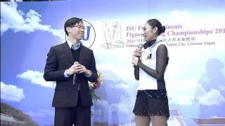 Feb 2011 Miki Ando 安藤美姫 interview (english)