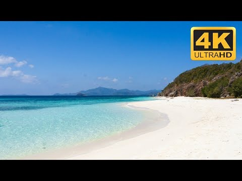 "4K Beach Scene in Ultra HD Resolution ""Paradise"""