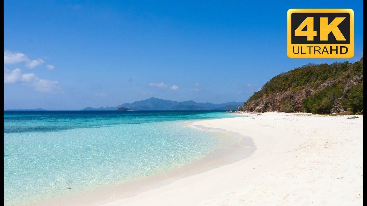 4K Beach Scene in Ultra HD Resolution quotParadisequot YouTube