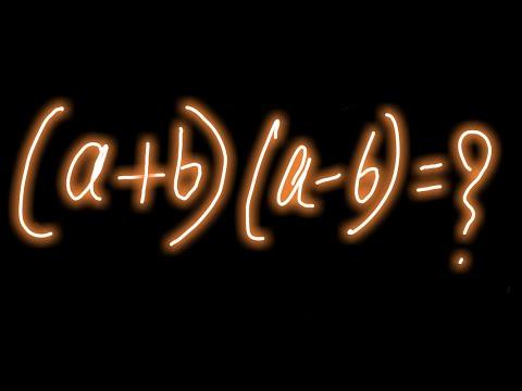 Mathematics analysis of formula (a+b)(a-b) | Part 2