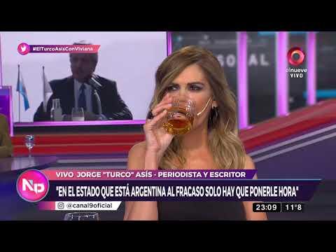 Jorge Asís con Vivivana Canosa