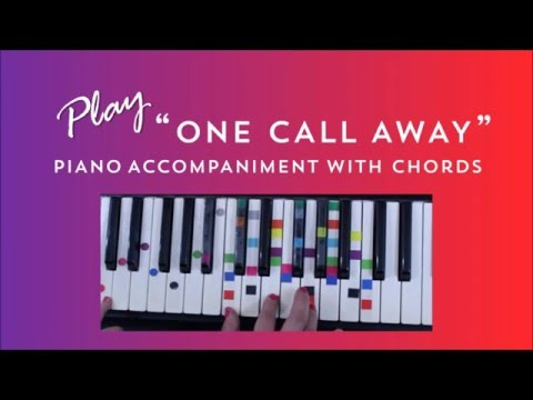 Piano piano chords of one call away : One Call Away - Charlie Puth | Easy Piano Chord Lesson | IVOREEZ ...