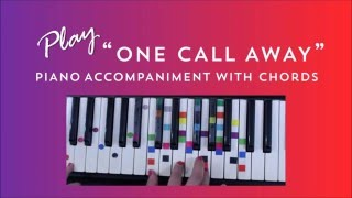 One Call Away - Charlie Puth | Easy Piano Chord Lesson | IVOREEZ