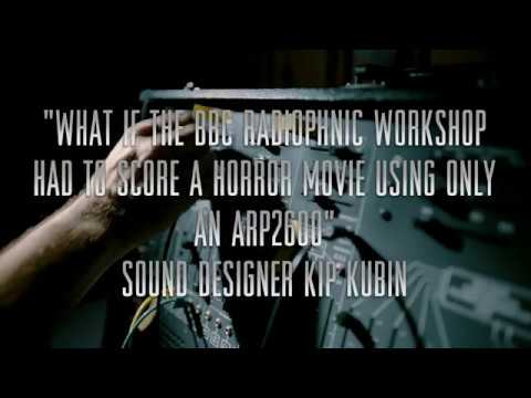"""""""What if the BBC Radiophonic Workshop had to score a horror movie only using and Arp2600"""""""