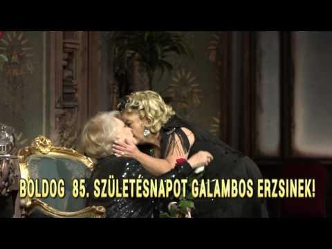Isten éltesse a 85 éves Galambos Erzsit!