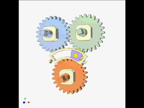 Mechanism For Converting Two Way To One Way Rotation 2