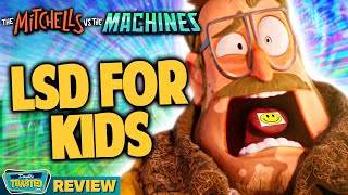 THE MITCHELLS VS THE MACHINES MOVIE REVIEW | Double Toasted