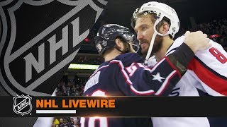 NHL LiveWire: Caps, Jackets mic'd up for potential clincher