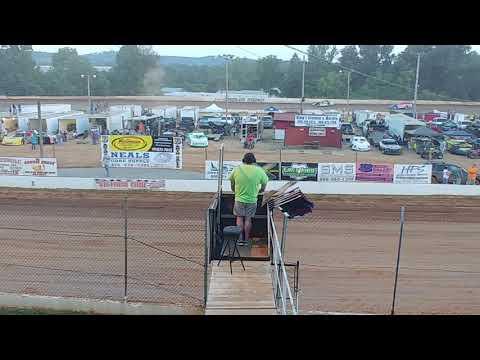 Lake Cumberland Speedway heat race 06/29/2019 Winner Rod Carter Jr