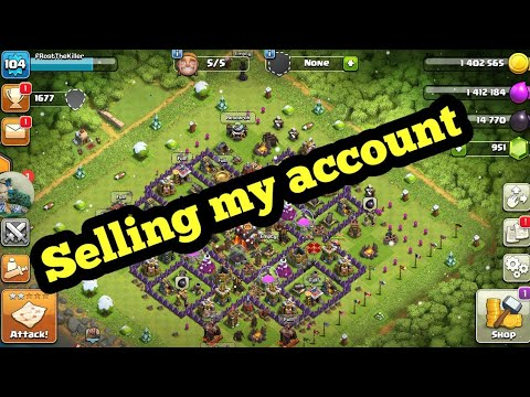 Selling My Clash Of Clan Account Please Read Description