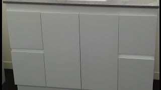 Buy Bathroom Caesarstone Vanity In Melbourne [grey-1200,1300,1400 Or 1500 Mm]