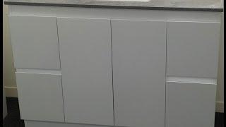 Buy Bathroom Caesarstone Vanity In Melbourne [grey-1200,1300,1400 Or 1500 Mm]