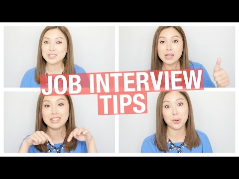 12 Job Interview Tips