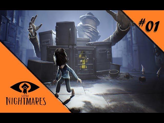 TIEF UNTEN MIT KID 💀 Let's Play Little Nightmares [DLC] DIE TIEFEN #01