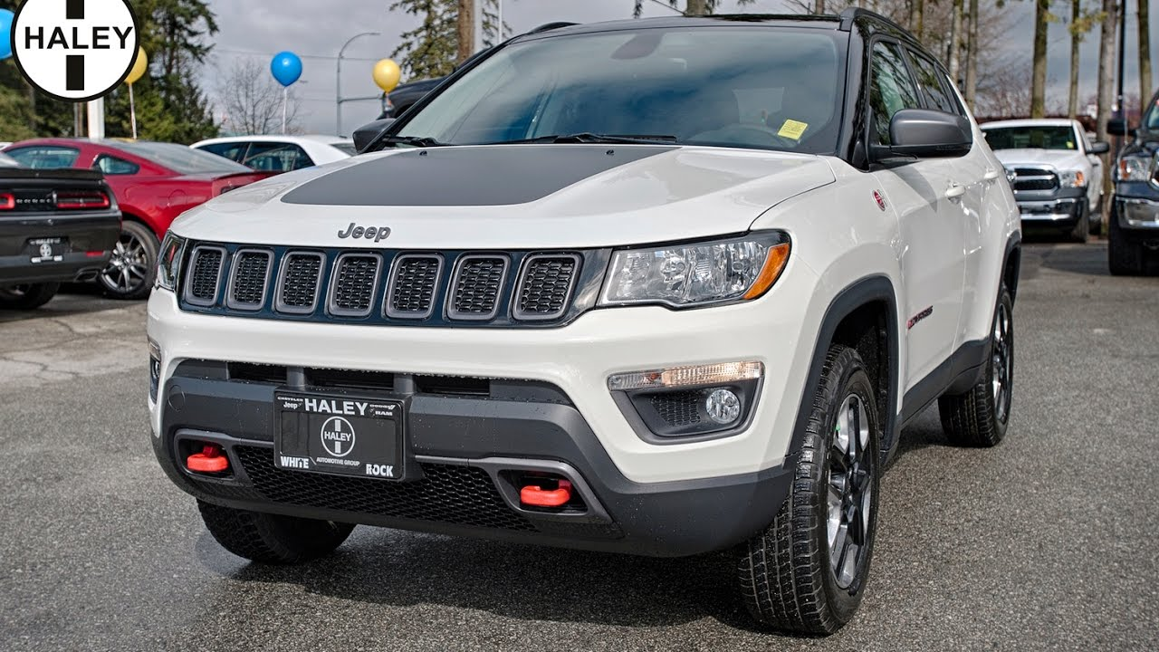 2017 jeep compass trailhawk youtube. Black Bedroom Furniture Sets. Home Design Ideas