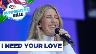 Ellie Goulding – 'I Need Your Love' | Live at Capital's Summertime Ball 2019