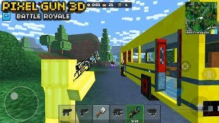 PIXEL GUN 3D: BATTLE ROYALE ¡PRIMER GAMEPLAY! *NUEVA ACTUALIZACION*
