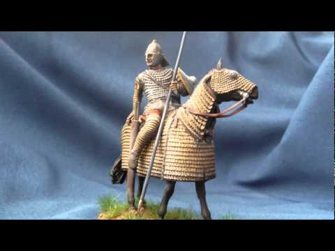 "Soldiers ""Roman Clibanarius 4th century A.D."" in 54mm scale"